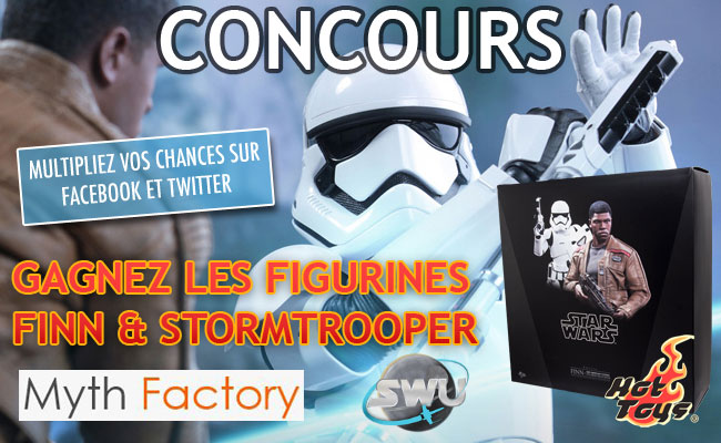 Concours figurines Finn & Stormtrooper