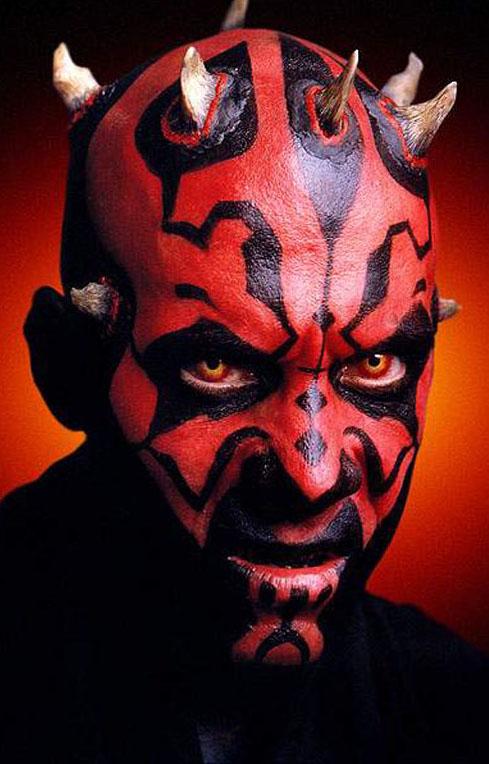 Dark maul tutoriaux de costumes star wars universe - Personnage de starwars ...