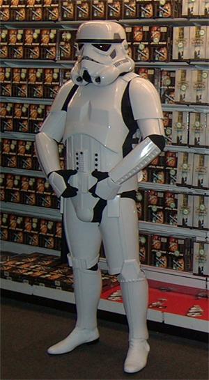 STAR WARS 2 pièces Storm Trooper Cookie Cutter-Choix de Tailles