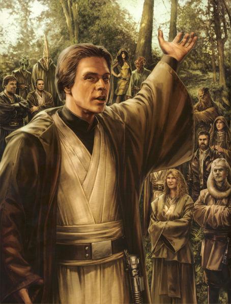 Luke Skywalker sur Zonama Sekot