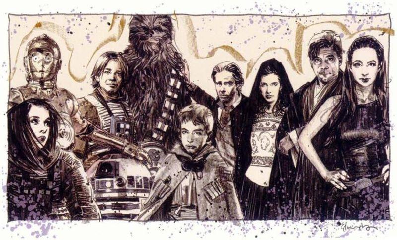 La famille Solo Skywalker