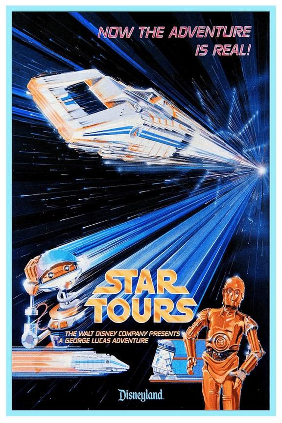 Affiche Star Tours