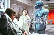 Luke, Leia et le droïde médical 2-1B