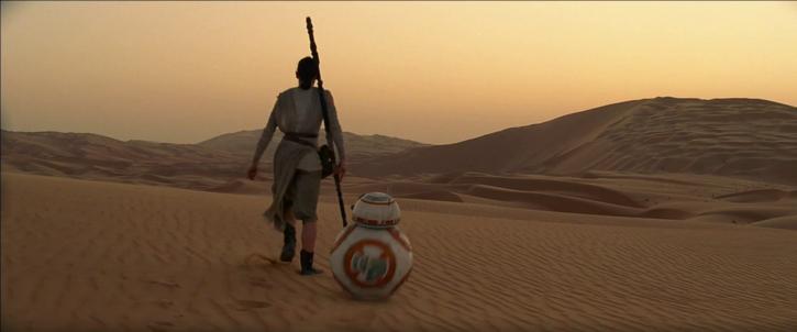 Rey rencontre BB-8
