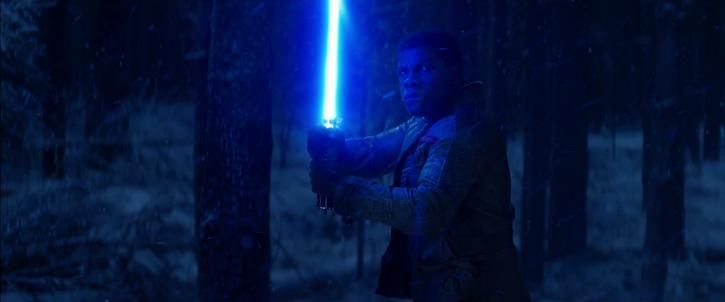 Finn prêt à affronter Kylo Ren