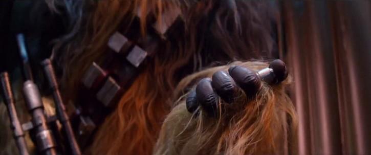 Chewbacca fait tout péter !
