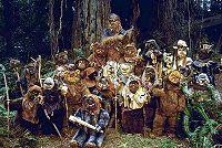 Chewbacca et ses cousins Ewoks