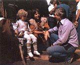 John Korty et ses 3 acteurs principaux