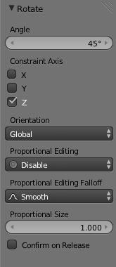 menu rotation