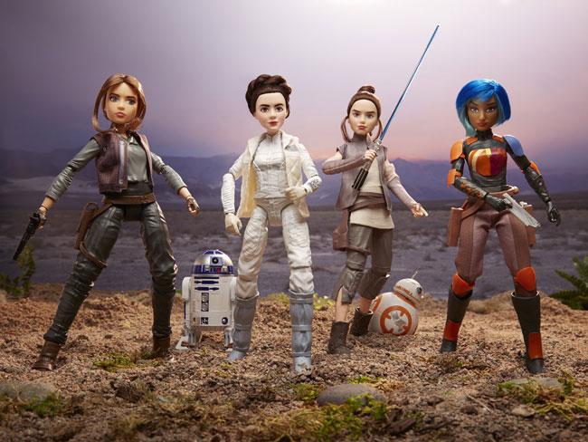 Forces of Destiny dolls