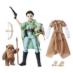 Forces of Destiny Leia Endor & Wicket