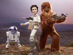 Forces of Destiny Leia & Chewbacca