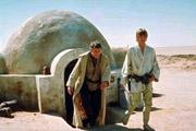 Luke et l oncle Owen dans leur ferme de Tatooine