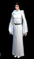 Image de synthèse représentant Leïa dans sa tenue blanche d ambassadrice
