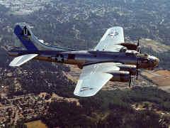 une Forteresse volante B-17