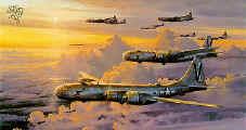 Un groupe de SuperFortress-B-29