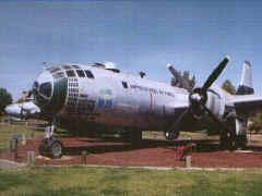 le cockpit en forme de serre du SuperFortress B-29