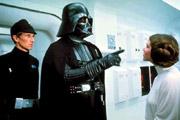 Vader face à la princesse sur le Tantive IV