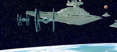 Une partie de la flotte impériale