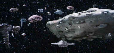 La flotte rebelle avant la bataille d'Endor