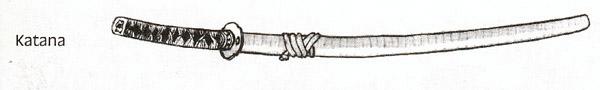 Le Katana, l'arme du Samouraï par excellence