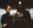 Ambiance de fête entre Luke et son papa