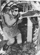 Artilleur sur une Forteresse volante B-17
