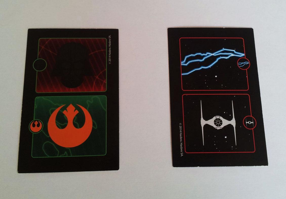 Symboles de la Rédemption et des éclairs de Force
