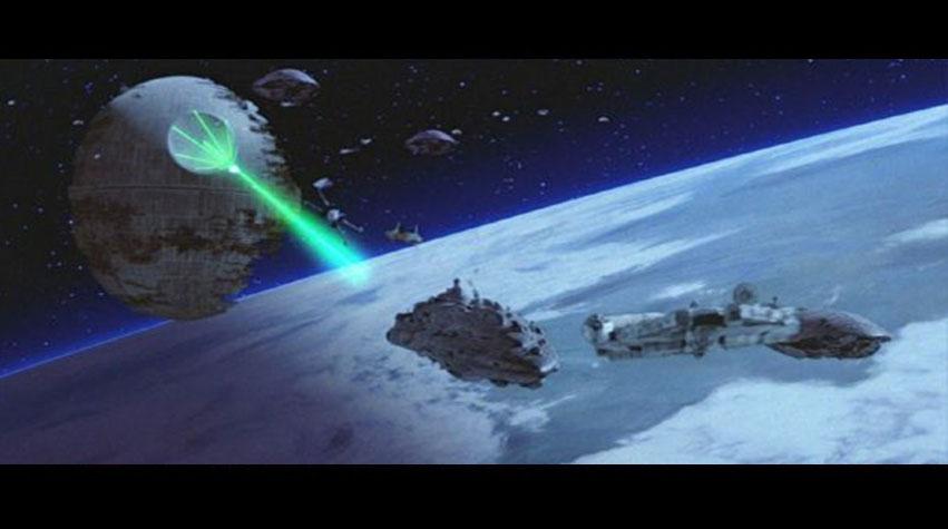 La bataille spatiale