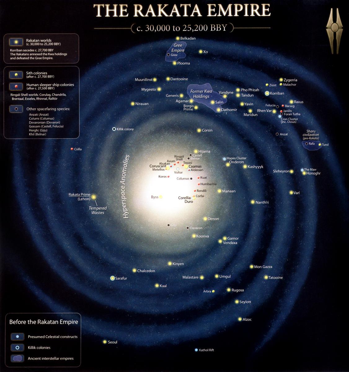 L'Empire Infini couvre toute la galxie