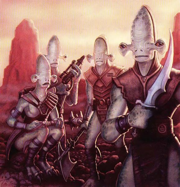 Des guerriers Rakatas