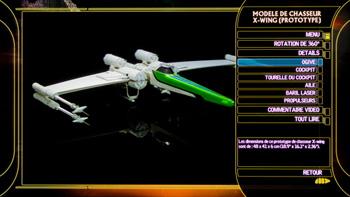 modèle de chasseur X-wing (prototype)