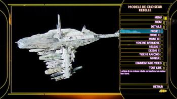 Modèle de croiseur rebelle