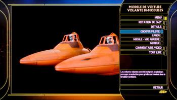Modèle de voitures volantes bi-modules