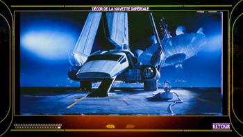 Décor de la navette impériale