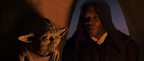 Yoda et Mace Windu