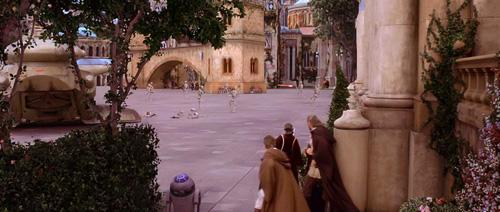 La prise du palais de Naboo