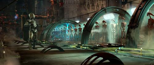 Les chaines de montage droids