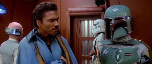 Lando et Boba Fett