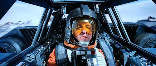 Rogue 2 en Snowspeeder à la recherche de Han et Luke