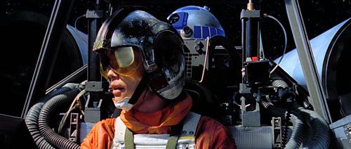 Luke en route pour Dagobah