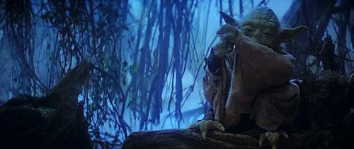 Première apparition de Yoda !