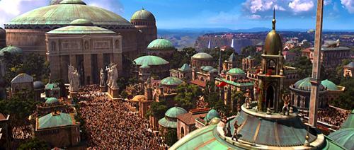On célèbre la défaite de l'Empereur jusque sur Naboo