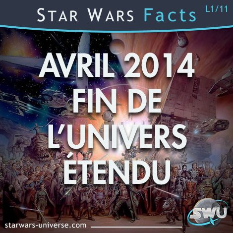 Univers Etendu Star Wars - Avril 2014 la fin