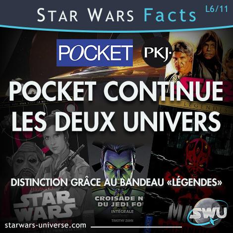 Pocket et Pocket Jeunesse publient les deux univers Star Wars