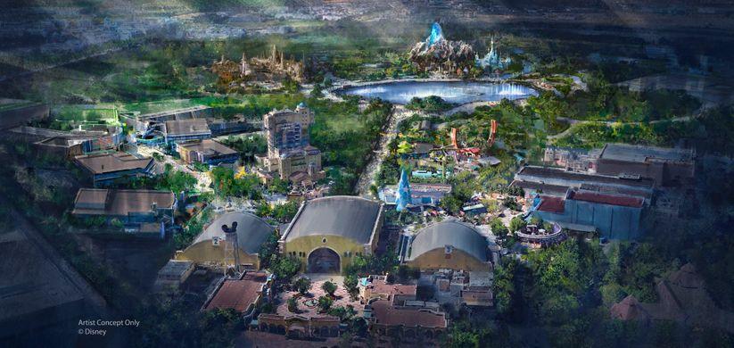 Concept Art Disneyland Paris