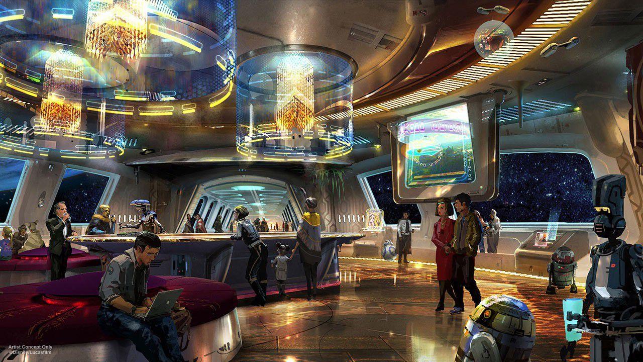 Concept Art Hôtel
