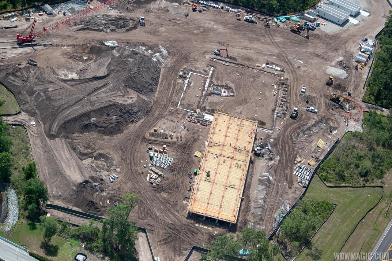 Construction Hôtel Star Wars