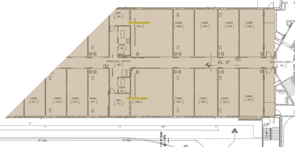 Plan Hôtel Star Wars