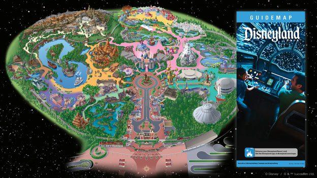 Plan du Parc Disneyland Anaheim